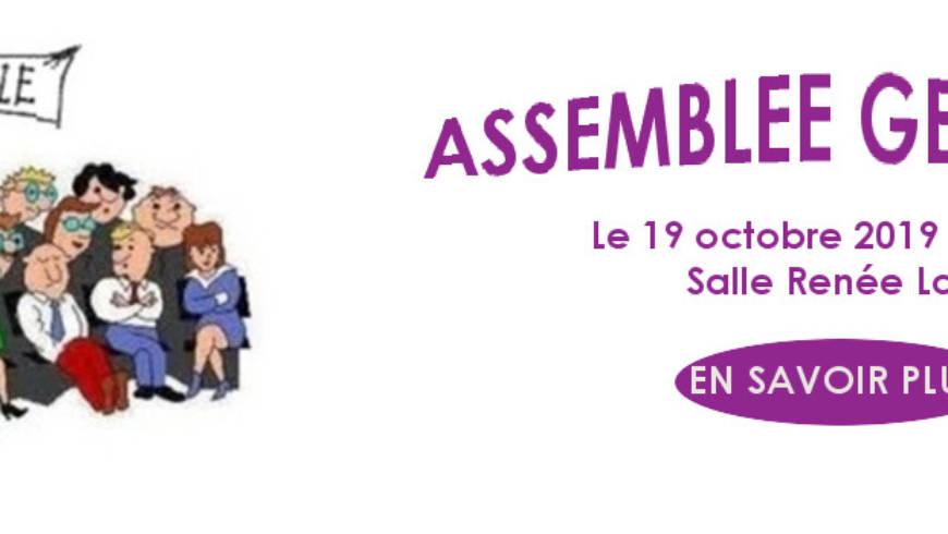Annonce Assemblée Générale